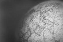 globe closeup