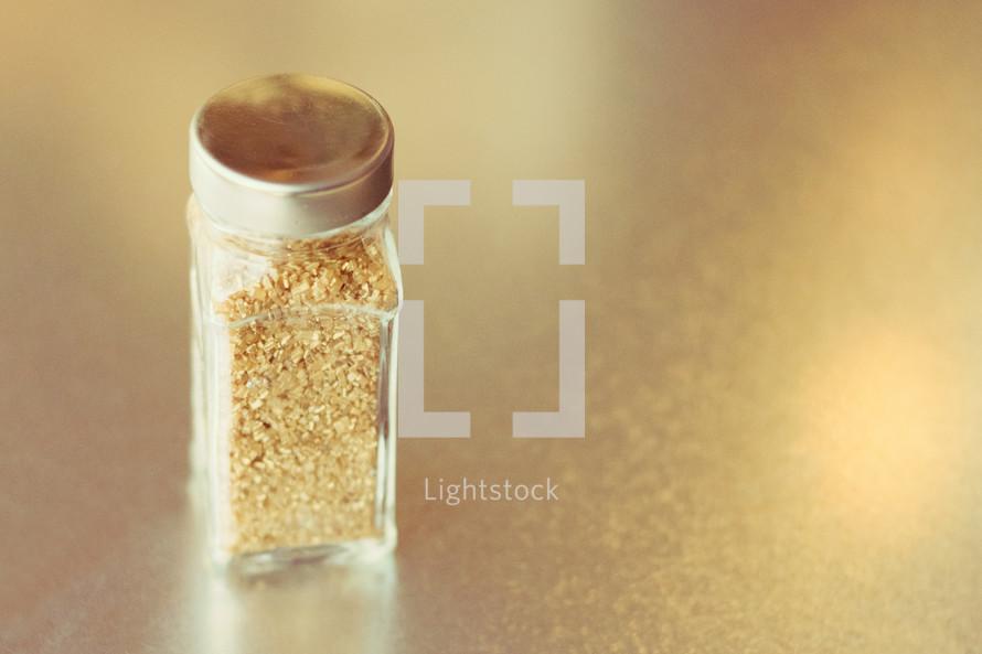 gold sparkle sprinkles