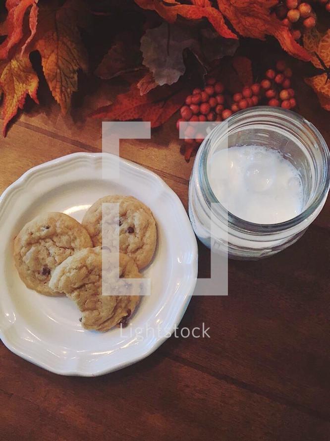 Cookies + Milk
