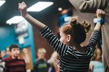 Children at children's church
