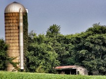 old silo