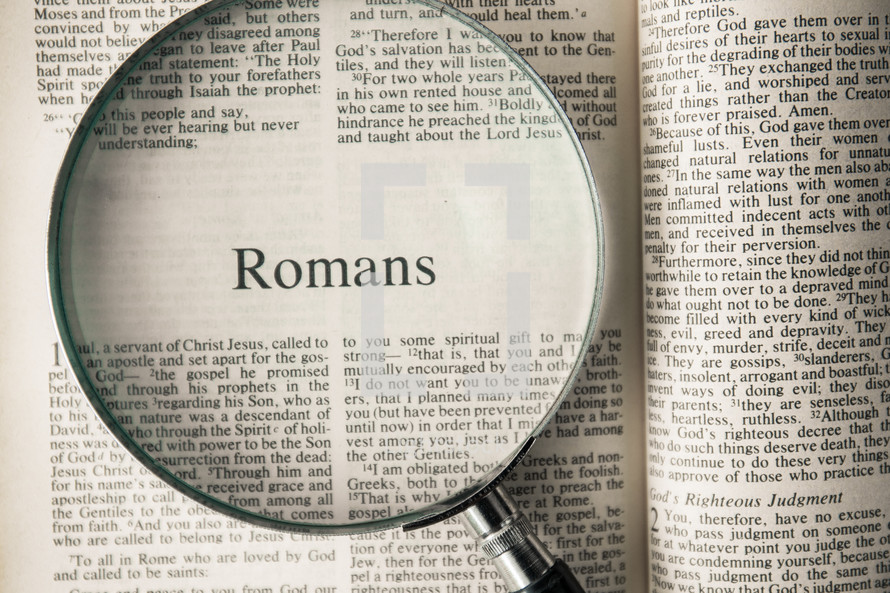 Romans under a magnifying glass