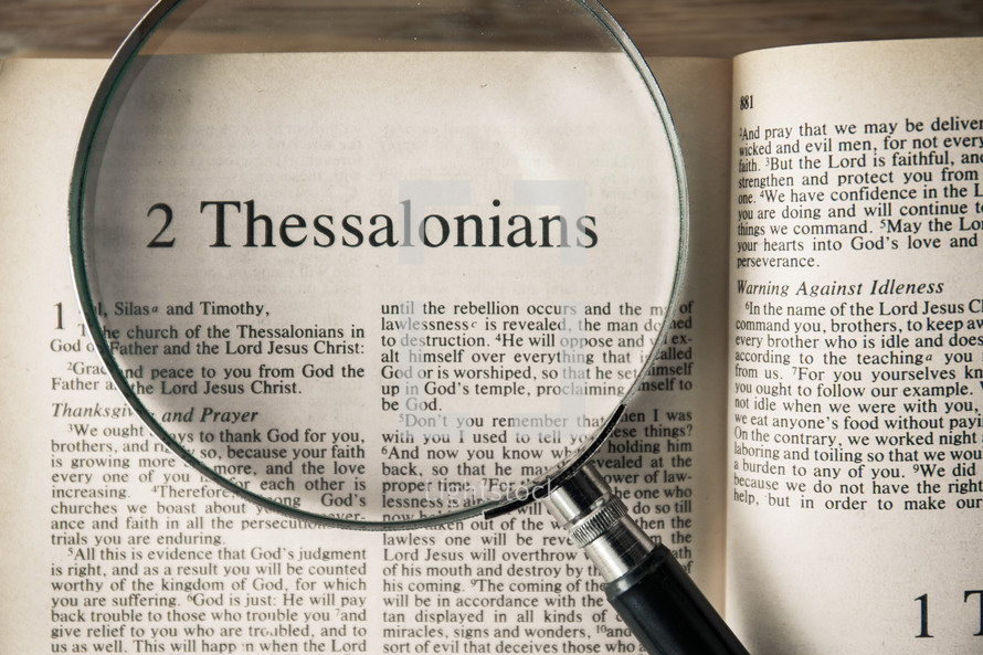 2 Thessalonians under a magnifying glass