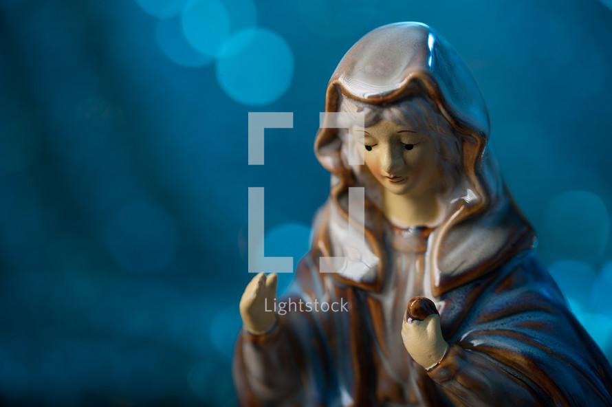 Mary figurine
