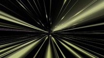 Beams of yellow and purple light motion background