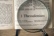 1 Thessalonians under a magnifying glass