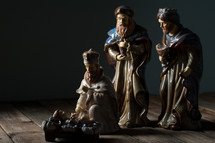 Epiphany, gifts presented to baby Jesus by the wisemen