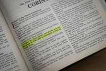 Corinthians 1:4 - give thanks scripture
