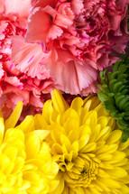 bouquet of flowers closeup