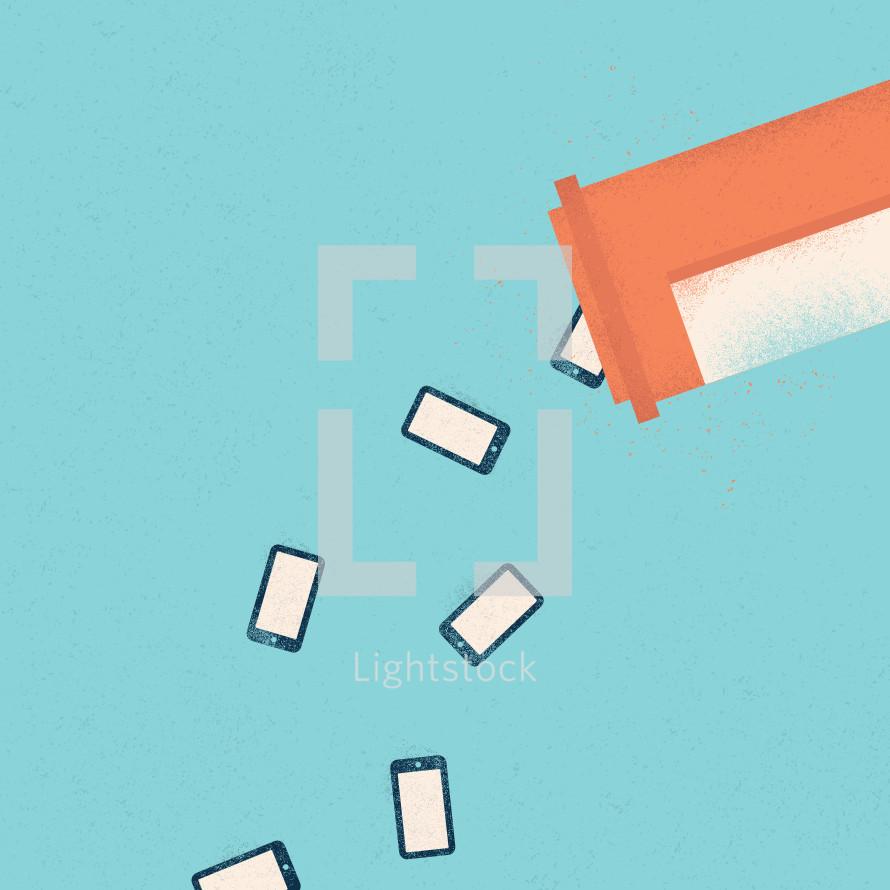 social media addiction.