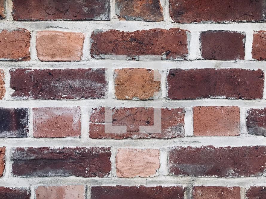 red brick backgorund
