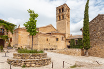 Church of San Juan Bautista in Pedraza, Segovia, Spain