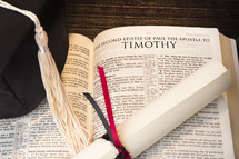 Bible, Timothy, Graduation, diploma