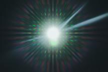 bright spotlight