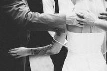 prayers around a bride