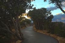 long winding mountain inn driveway