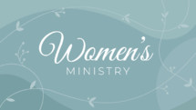 women's ministry group slide or video background