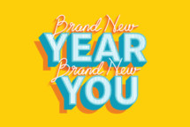 Brand new year brand new you