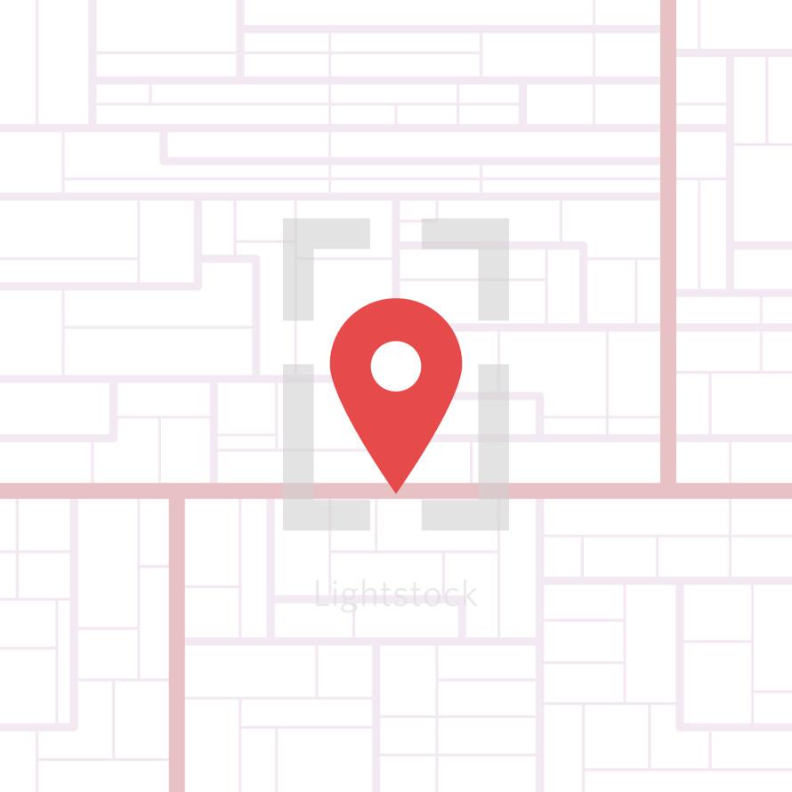 gps map location