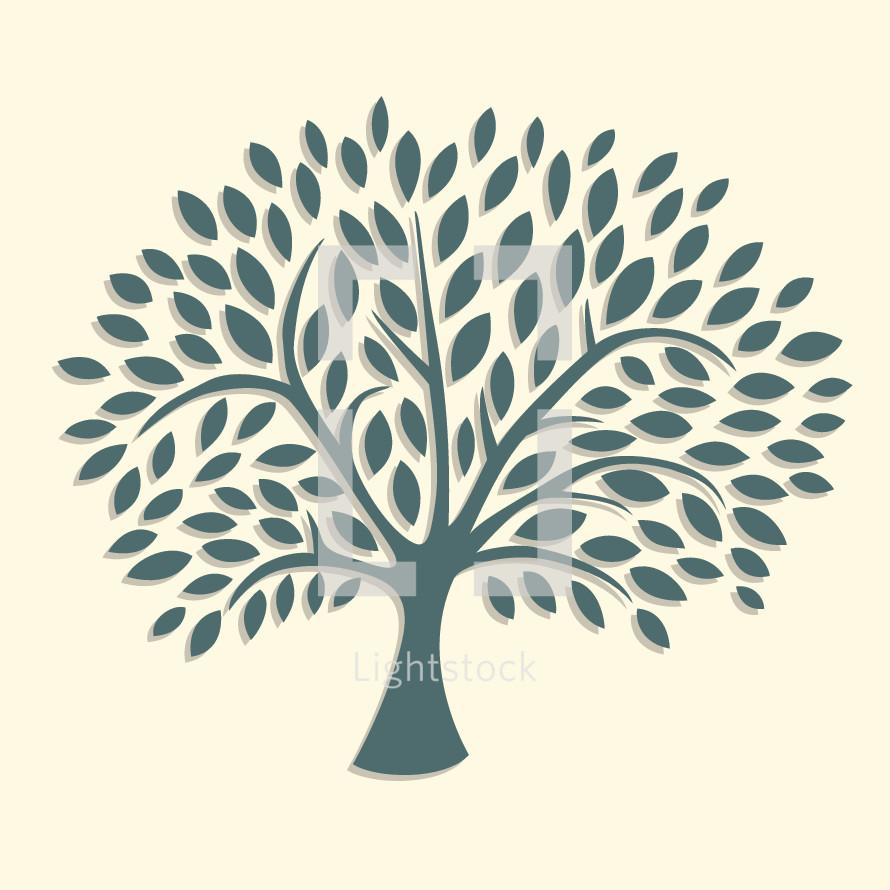 illustration of growing tree.