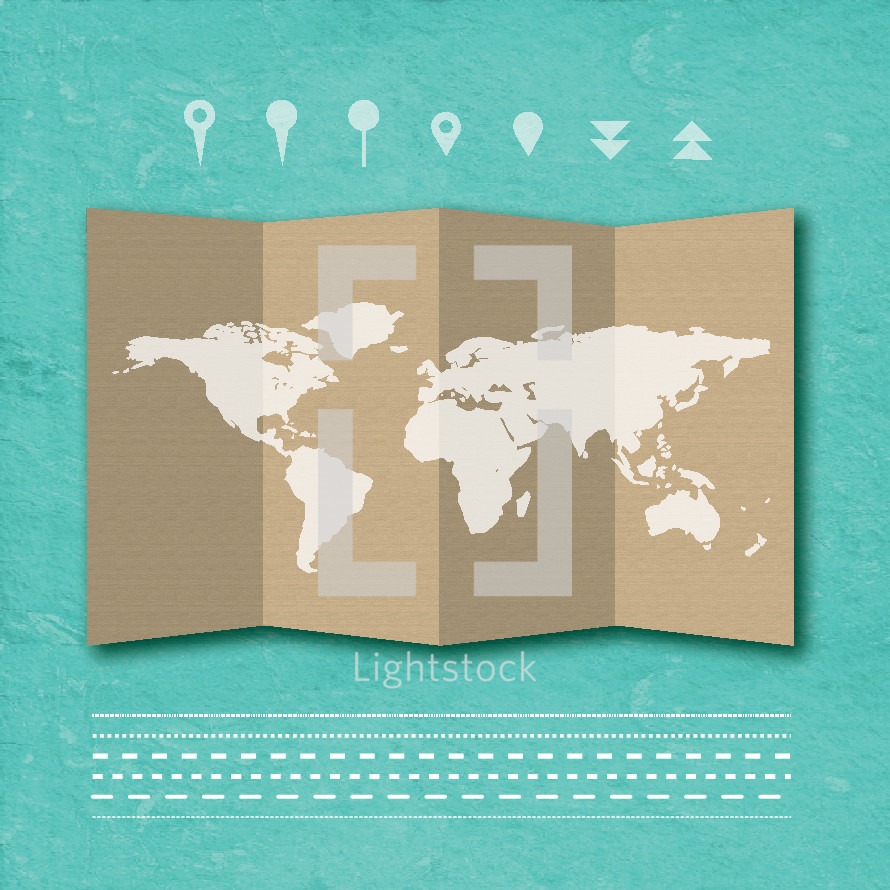 world map, direction, border, map