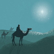 3 Wise Men illustration.