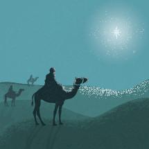 3 Wise Men illustration.