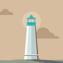 lighthouse icons
