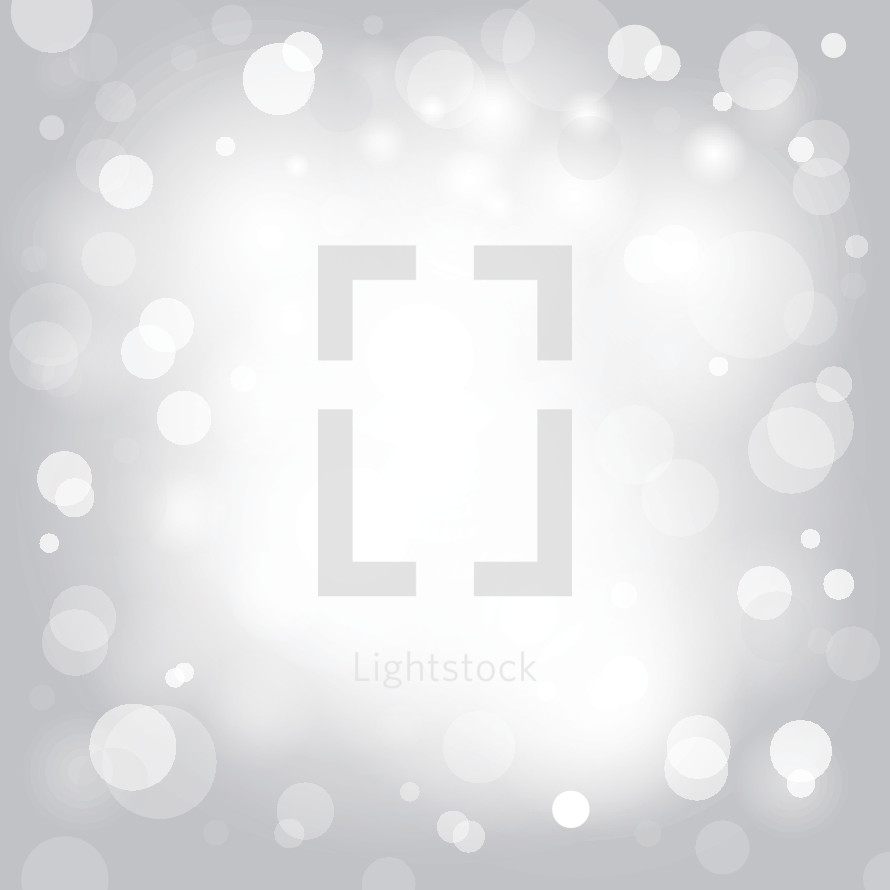 white light bokeh background.