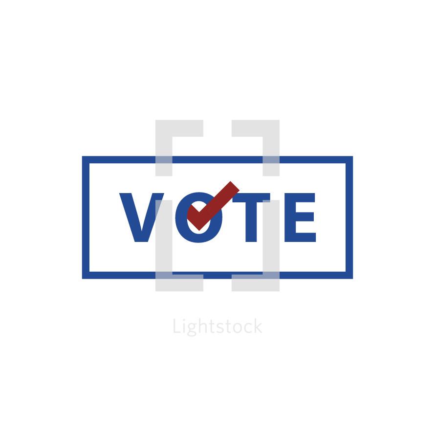 vote graphic illustration