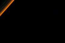 streaks of light in night sky