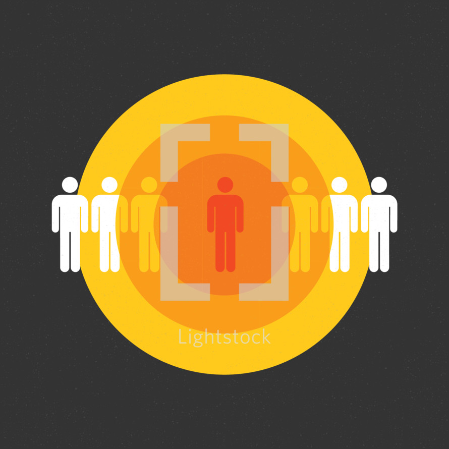 Person Influencing others icon