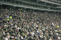 Chicago White Sox fans in a stadium