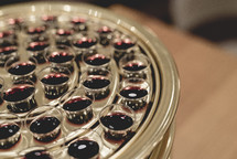 communion cup tray