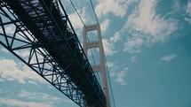 going under a bridge