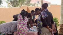 Craft Table in Uganda