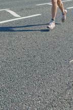 Joggers legs