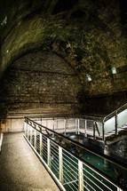 Ancient ritual bath house in Jerusalem