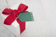 Christmas Present with Gift Tag