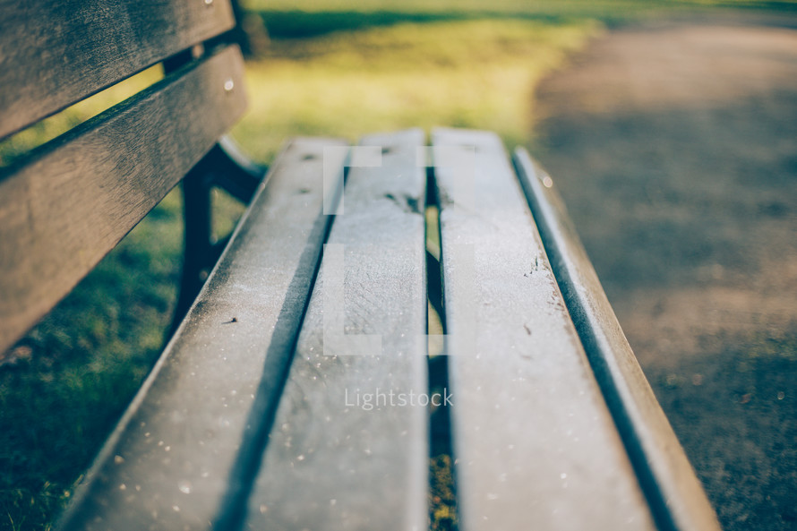 Icy Bench