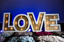 Decorative Love Lights i