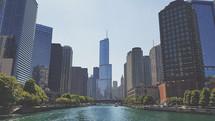 city along a river