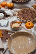 baking fall pies