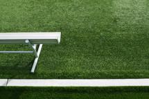 football turf sidelines