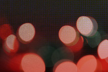 a textured and layered bokeh photo of lights