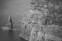 sea cliffs