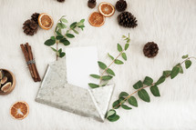 galvanize envelope and spices