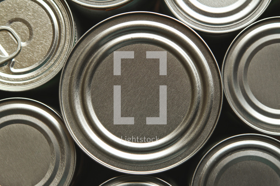 canned food tops