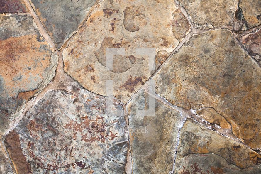 stone patio floor
