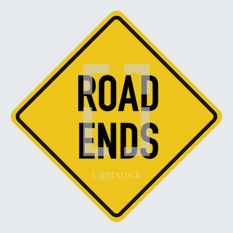 road ends